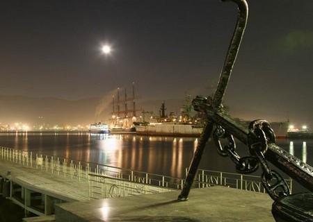 Новороссийск ночью