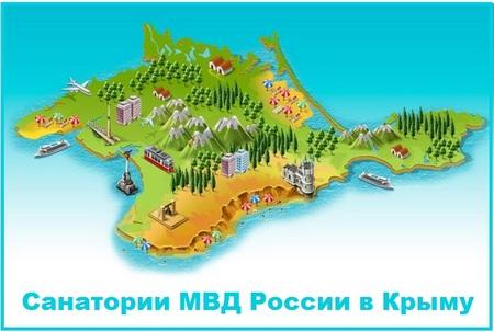 Санатории МВД в Крыму